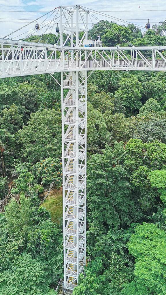 AJ Hackett Skybridge Sentosa Singapore - AJ Hackett Tower