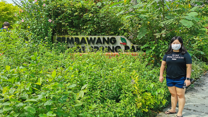 Sembawang Hot Sping Park - Entrance