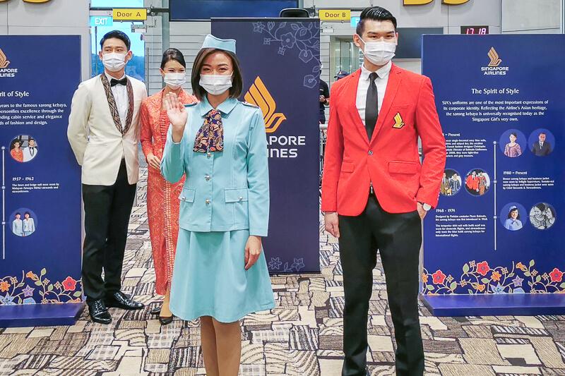 Singapore Airlines Uniform