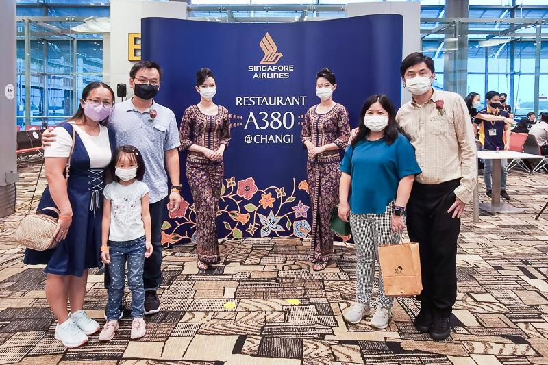 Singapore Airline Restaurant A380 Changi