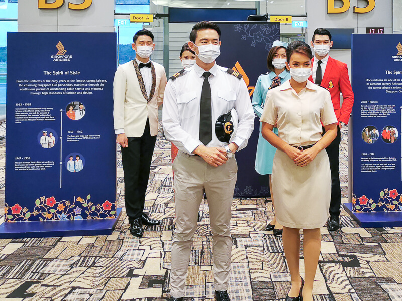 Singapore Airlines Uniform