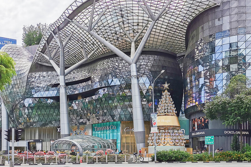 Christmas in Singapore 2020 - Orchard ION