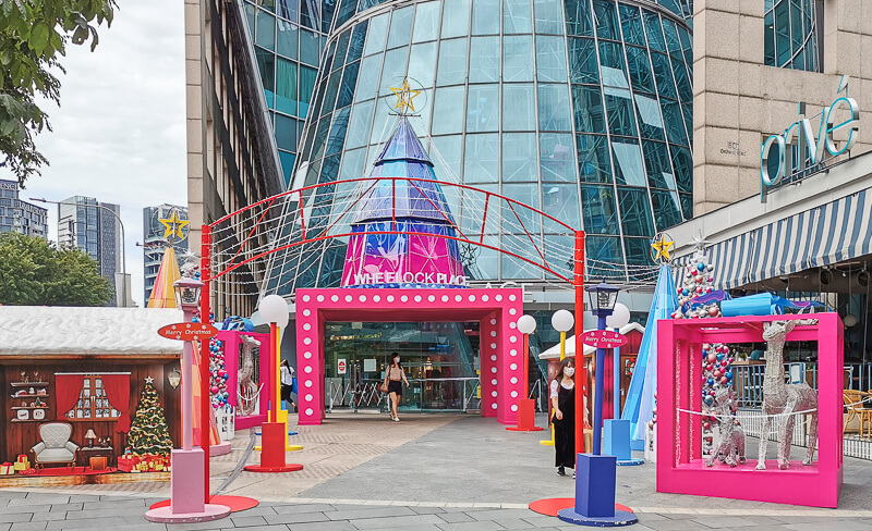 Christmas in Singapore 2020 - Wheelock Place