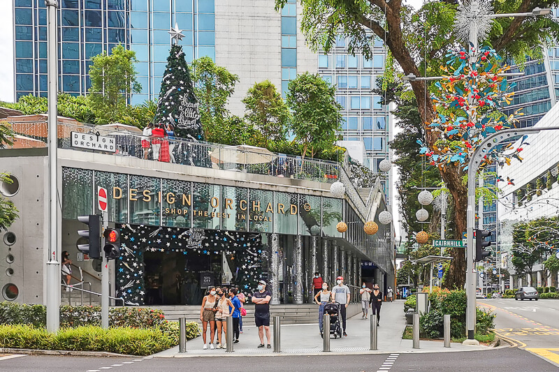 Christmas in Singapore 2020 - Design Orchard