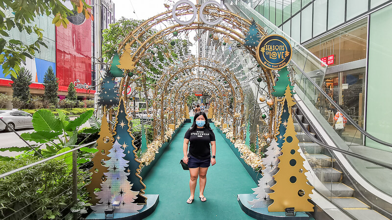 Christmas in Singapore 2020 - Orchard Central