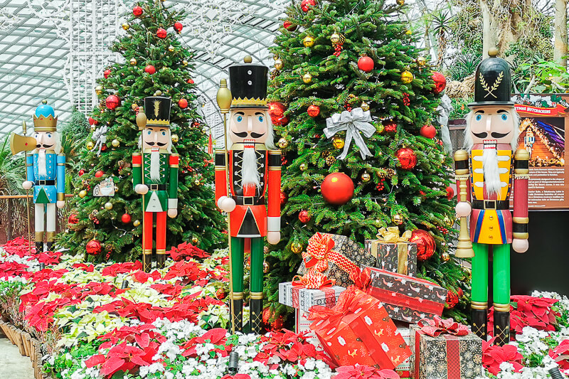 Christmas in Singapore 2020 - Flower Dome, Gardens by the Bay