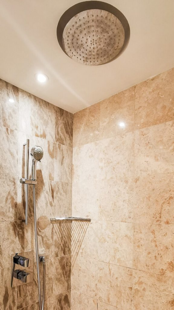 Conrad Centennial Singapore Review - Bathroom Shower