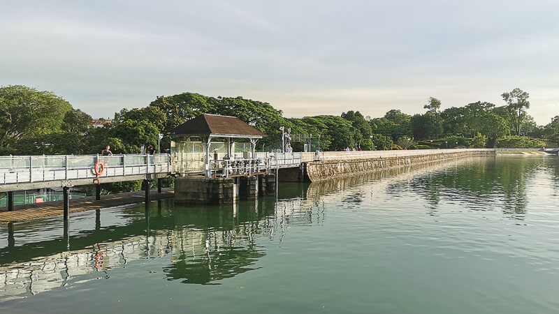 Things to do in MacRitchie Reservoir - The Promenade front view