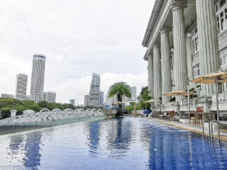 Fullerton Hotel Singapore Staycation Review