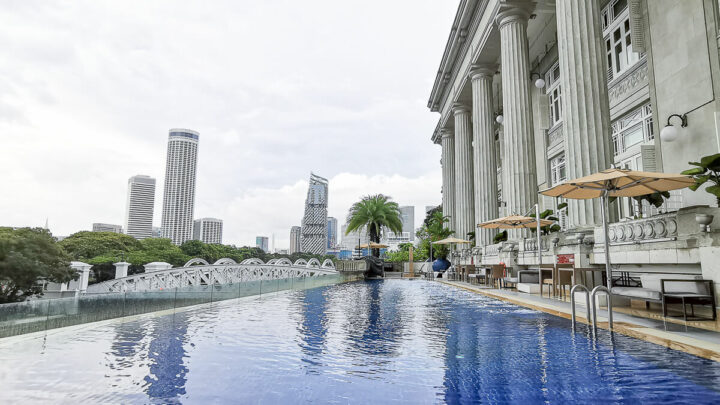 Staycation at Fullerton Hotel Singapore – Premier Courtyard Room