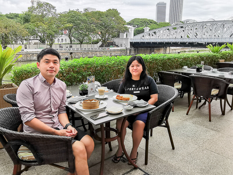 Fullerton Hotel Singapore Staycation Review - Breakfast
