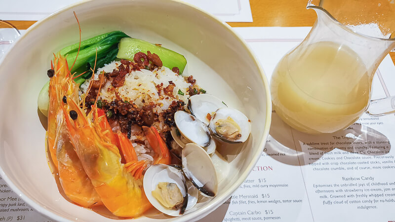 Fullerton Hotel Singapore Staycation Review - Dinner Town Restaurant - Chef Create Series