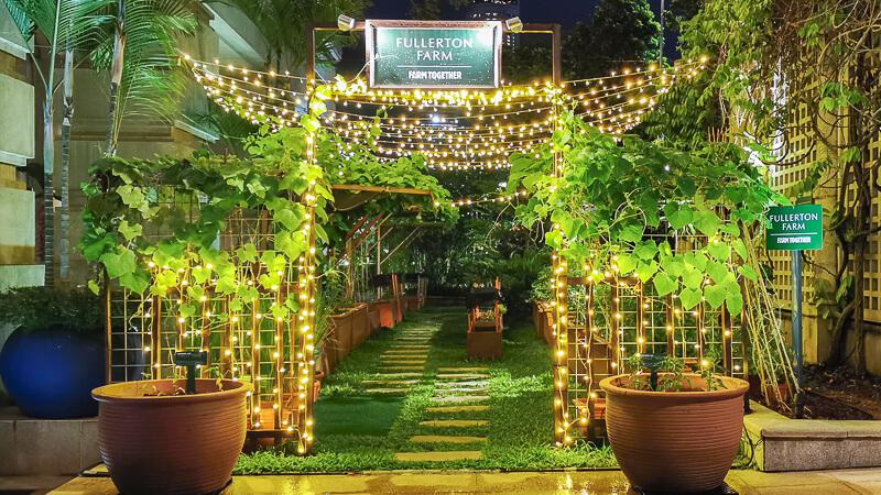 Fullerton Hotel Singapore Staycation Review - Exploring Fullerton Farm