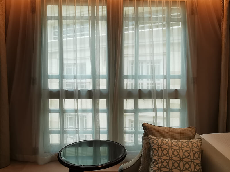 Fullerton Hotel Singapore Staycation Review - Premier Courtyard - View