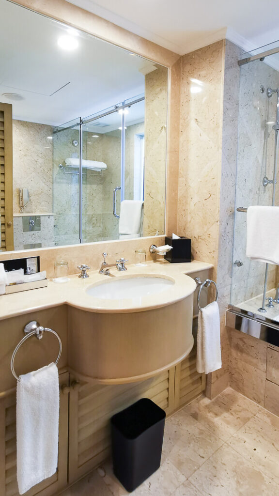 Goodwood Park Hotel Singapore Staycation Review - Bathroom