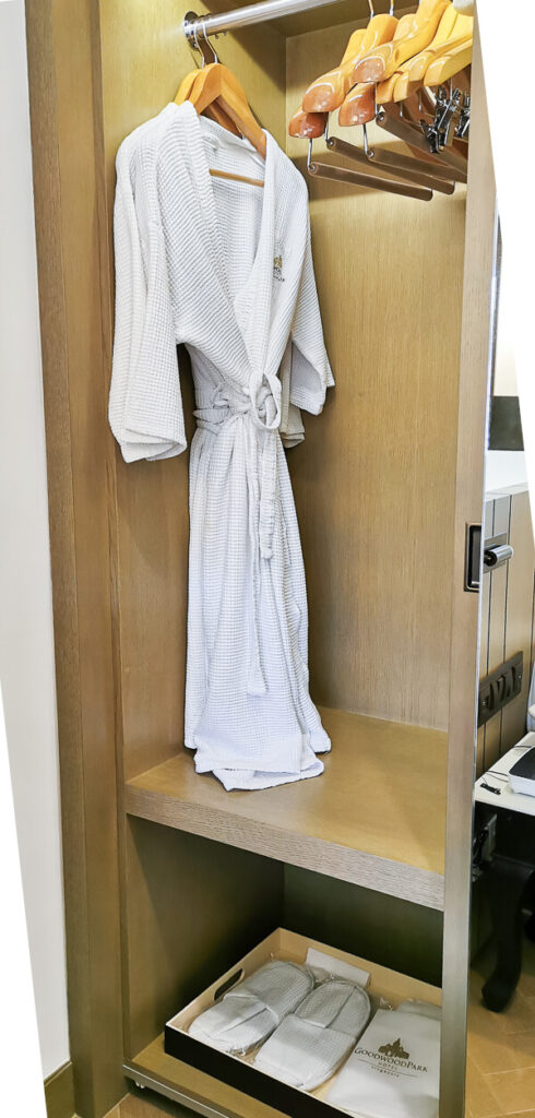 Goodwood Park Hotel Singapore Staycation Review - Bath robes, Slippers