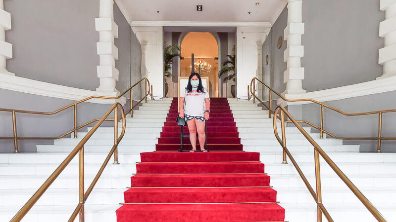 Goodwood Park Hotel Singapore Staycation Review - Explore - grand tower entrance