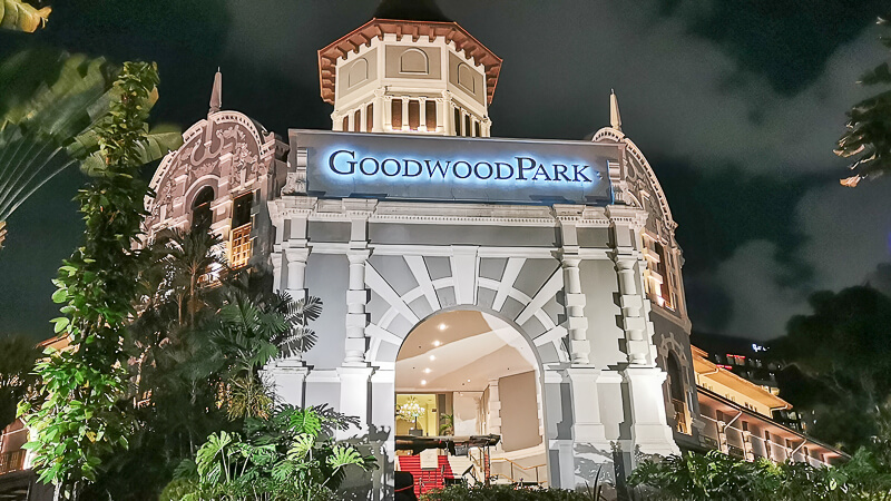 Goodwood Park Hotel Singapore Staycation Review - Explore - grand tower night
