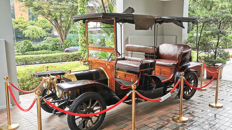 Goodwood Park Hotel Singapore Staycation Review - Explore - vintage car
