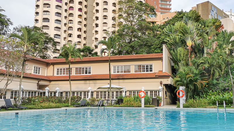 Goodwood Park Hotel Singapore Staycation Review - Main Swimming Pool