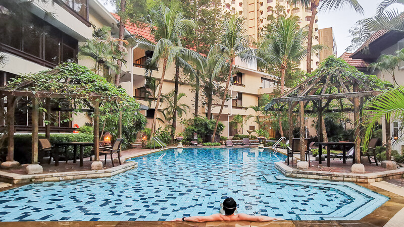 Goodwood Park Hotel Singapore Staycation Review - Mayfair Swimming Pool
