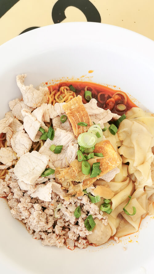 Hill Street Tai Hwa Pork Noodle - Dry Minced Meat Bak Chor Mee Meekia