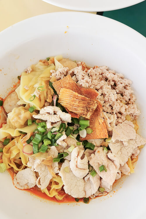 Hill Street Tai Hwa Pork Noodle - Dry Minced Meat Bak Chor Mee Meepok