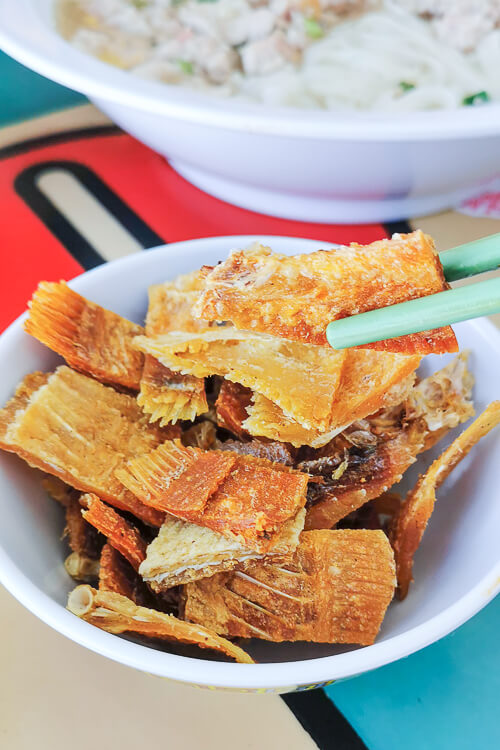 Hill Street Tai Hwa Pork Noodle - Fried Salted Fish