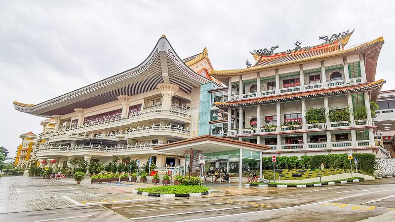 Kong Meng San Phor Kark See Singapore - Architecture