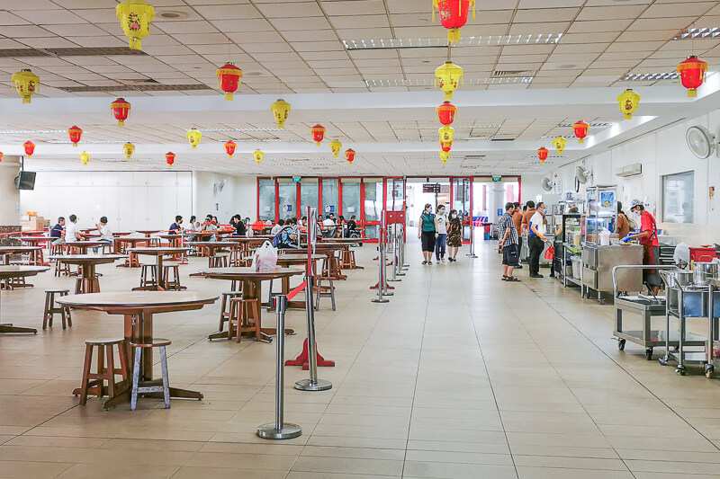 Kong Meng San Phor Kark See Singapore - Dining Hall interior
