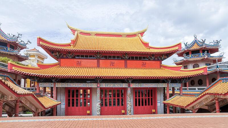Kong Meng San Phor Kark See Singapore - Hall of Great Strength (back)