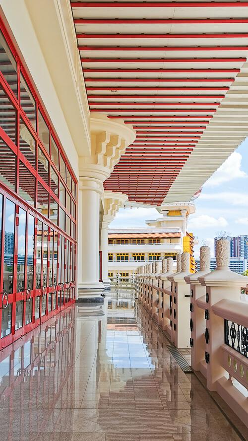 Kong Meng San Phor Kark See Singapore - Venerable Hong Choon Memorial Hall Level 4