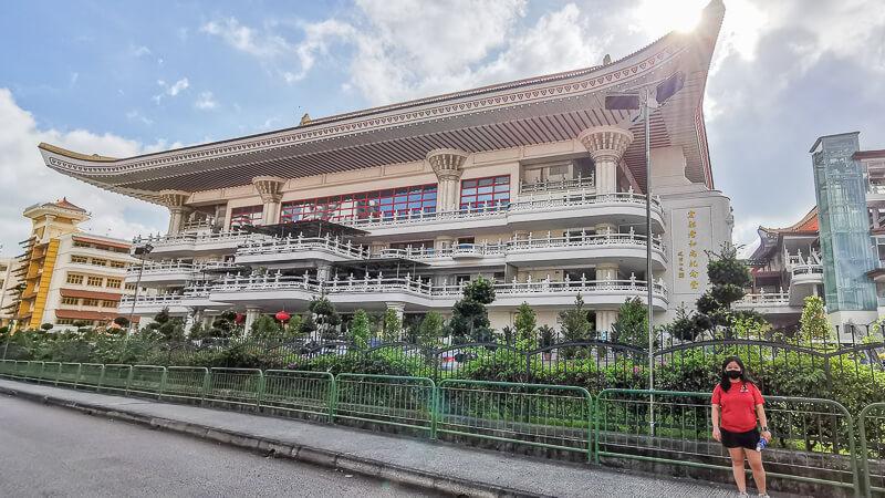 Kong Meng San Phor Kark See Singapore - Venerable Hong Choon Memorial Hall